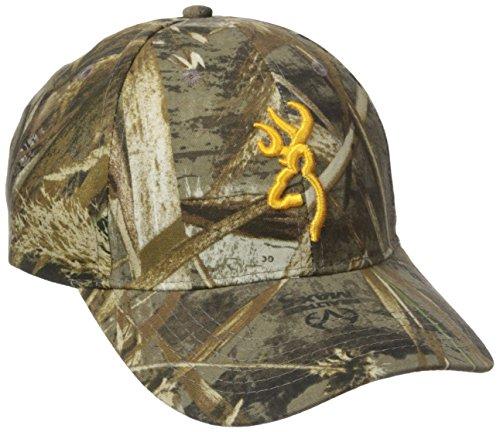 (Browning Rimfire 3D Buckmark Cap, Realtree)