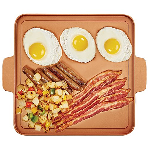 Copper Chef 12 Inch Grill And Griddle Import It All