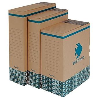 Propac z-boyra8 caja para archivo A4 Avana, 26 x 36 cm, paquete de ...