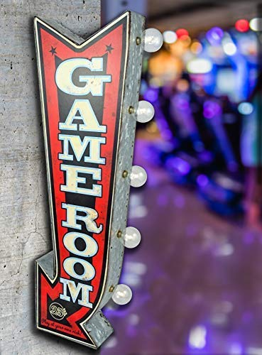Game Room LED Sign, Large 25