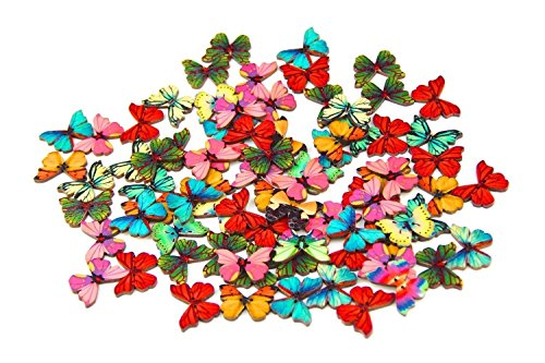 Pack of 50pcs Mixed Buttons Sewing Scrapbooking