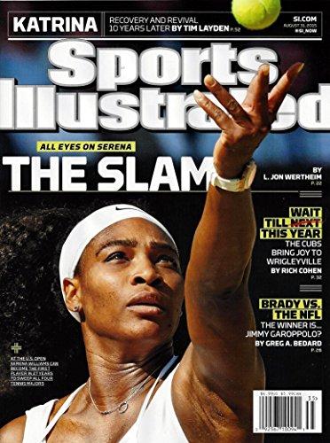 Sports Illustrated Serena Williams The Grand Slam 8/31/15 2015