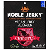 NOBLE Jerky, Vegan & Vegetarian Snacks, 14 Grams of Protein, Plant Based Protein, Non GMO, Chipotle
