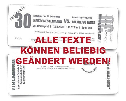 40 Geburtstagskarten Geburtstagseinladungen  Das Heimspiel  - grün grün grün - Fussballkarten Ticket Eintrittskarte Abriss-Coupon B076GR86FL | Hat einen langen Ruf  caf851