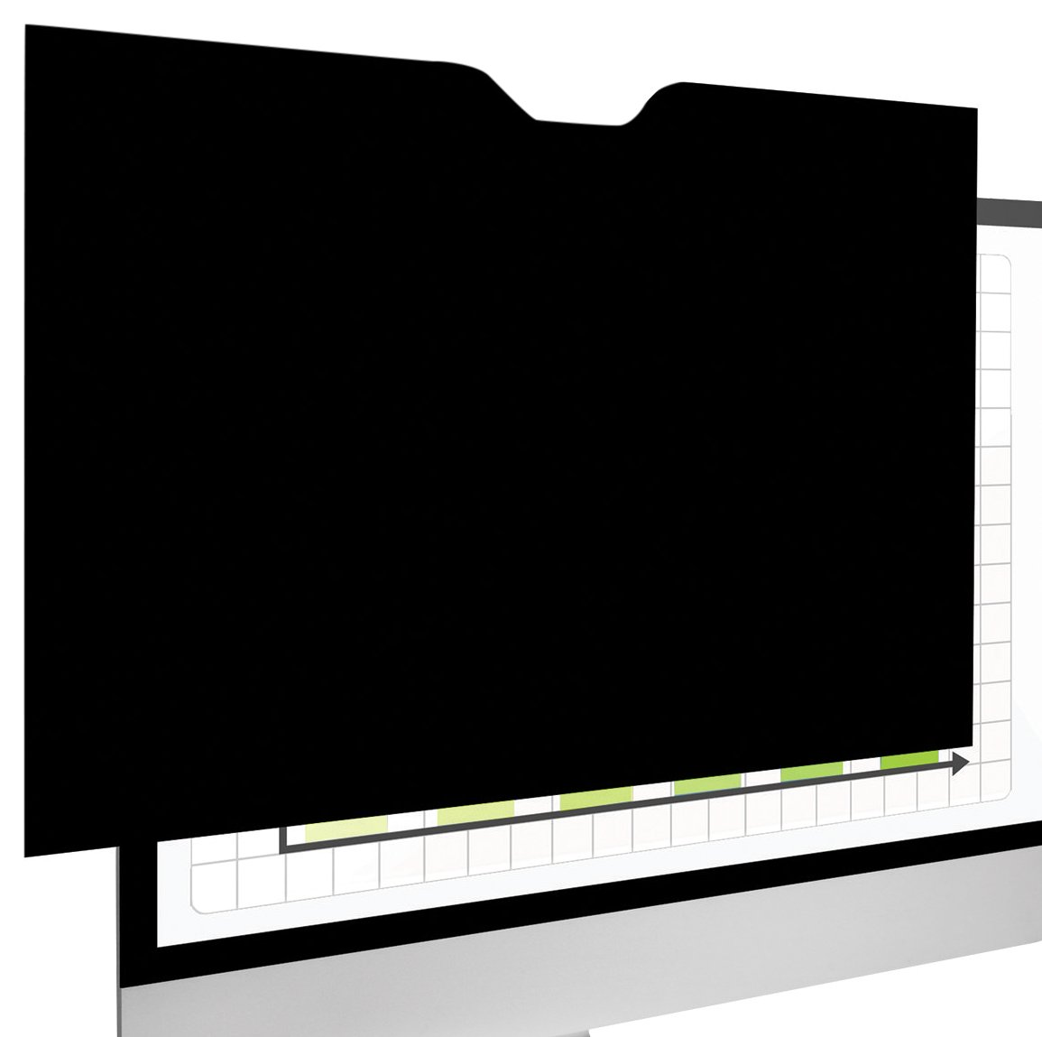 Fellowes 4818301 PrivaScreen Blackout Privacy Filter with Retina Display for 13'' MacBook Pro