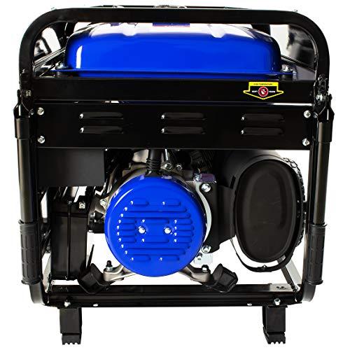 DuroMax Hybrid Dual Fuel XP12000EH 12,000-Watt Portable Generator