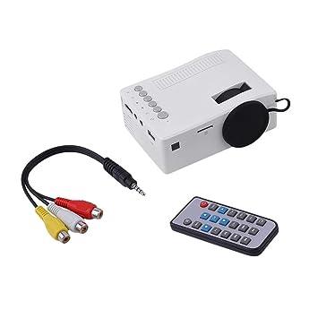 UC18 HD 1080P TFT LCD Compacto Siz eHome Mini Proyector HD TV ...