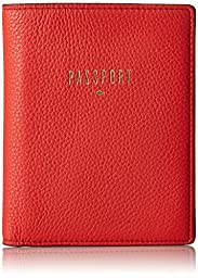 Fossil RFID Passport Wallet, Tomato, One Size