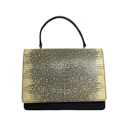 Prada Women's Black Tessuto Lucerto Handbag ()