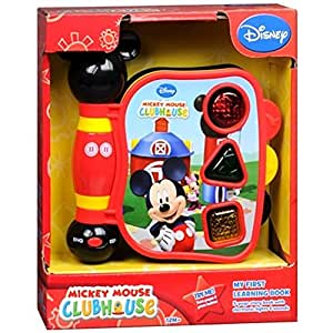 Amazon Com Mickey Mouse Clubhouse Mickey S My First