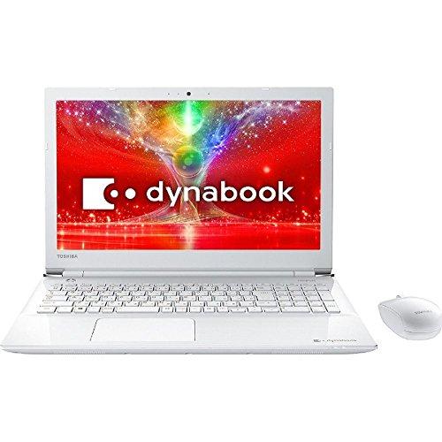 東芝 15.6型 ノートパソコンdynabook T45/E リュクスホワイト(Office Home&Business Premium プラス Office 365) PT45EWP-SJA   B076HZTR32