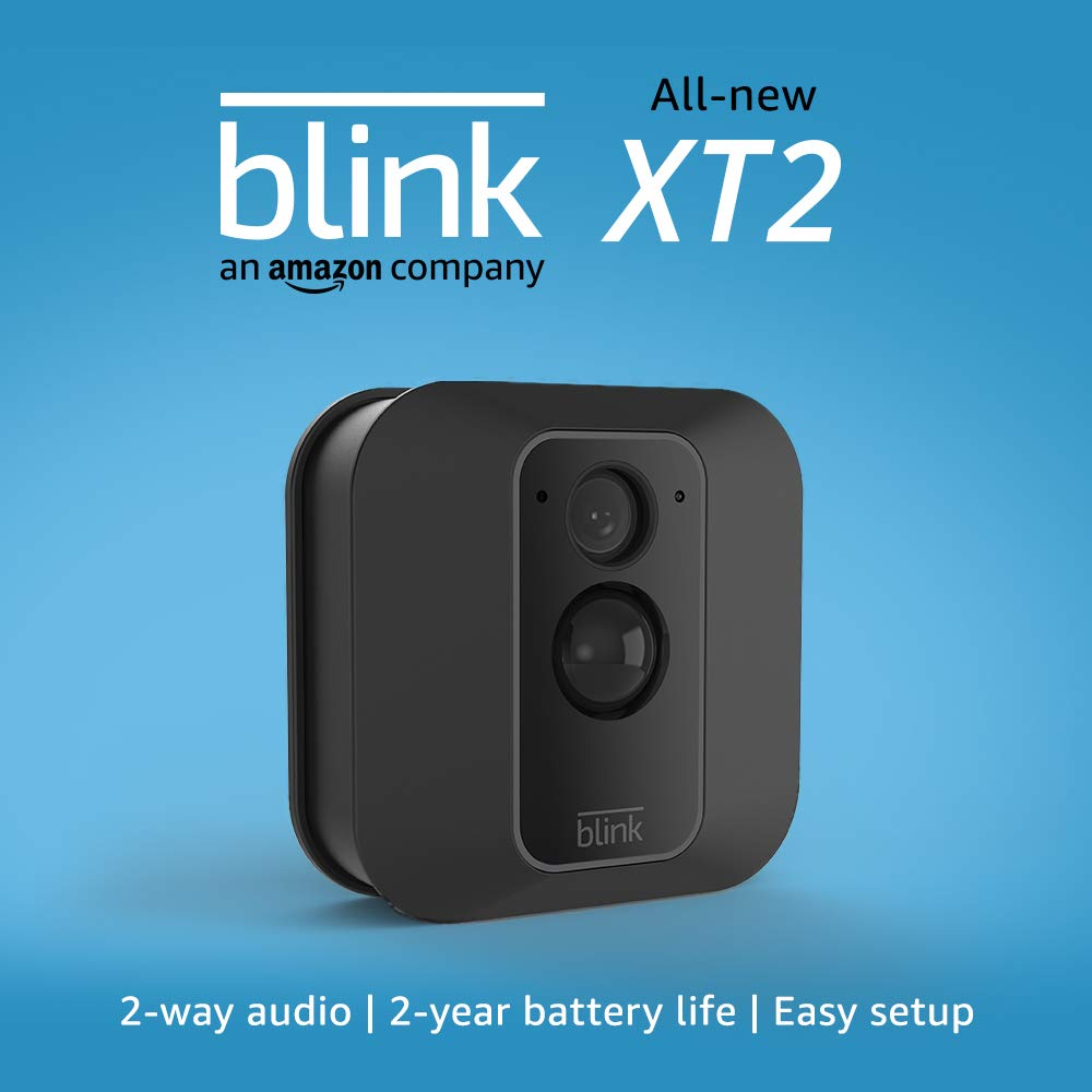 All-new Blink XT2 Outdoor/Indoor Smart Security Camera with cloud storage included, 2-way audio, 2-year battery life – 1 camera kit