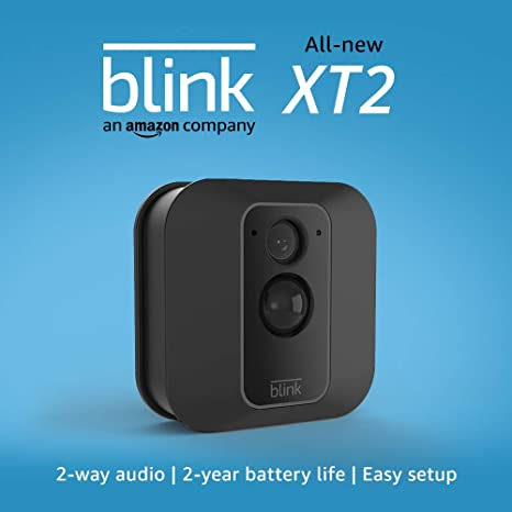 All New Blink Xt2 Outdoor/Indoor Smart Security Camera With Cloud Storage Included, 2 Way Audio, 2 Year Battery Life – 1 Camera Kit by Blink Home Security