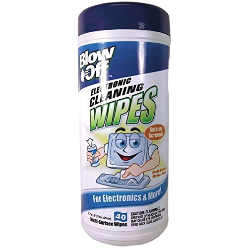 Blow Off WPE-002-091 Electronic Cleaning Wipes 40 Count