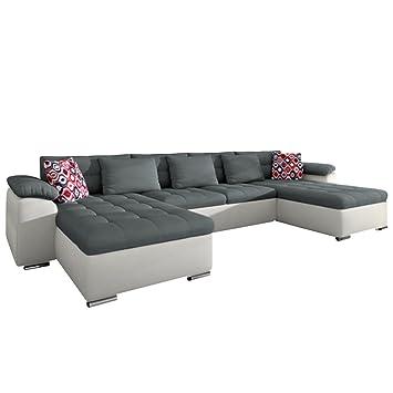 Design Big Sofa Eckcouch Couch! Mit Schlaffunktion Bettfunktion!  Wohnlandschaft!