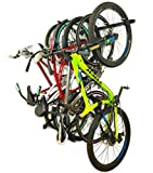 Omni Bike Storage Rack - Holds 5 Bicycles - Home & Garage Adjustable Bikes Wall Hanger Mount