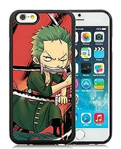 Fashion Designed One Piece 24 Black iPhone 6 4.7 Inch TPU Phone Case