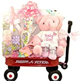 Radio Flyer Baby Gift Basket - Girl