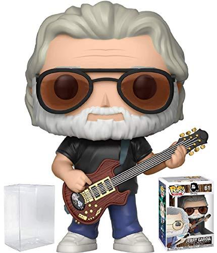 Funko Pop! Rocks: Grateful Dead - Jerry Garcia #61 Vinyl Figure (Includes Pop Box Protector Case)
