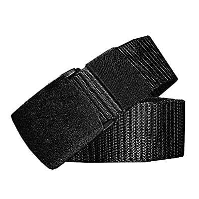TACVASEN Men's Military Style Army Tactical Nylon Webbing Adjustable Buckle Belt