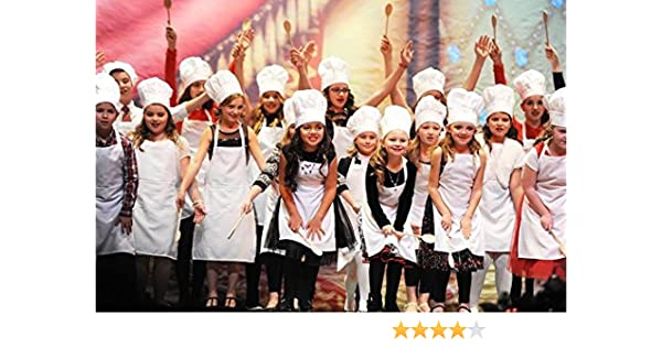 6f1a04e15c88f Amazon.com  CHEFSKIN Personalized Customize Embroidery Chef KIDS Set ...