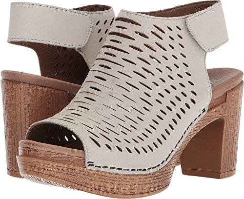 Dansko Women's Danae Heeled Sandal, Oyster Milled Nubuck, 38 M EU (7.5-8 US) by Dansko