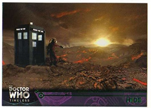 2016 Topps Doctor Who Timeless Green Foil Parallel #88 Hide