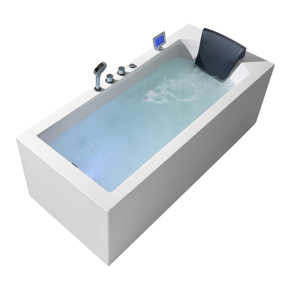ARIEL Platinum PW1547032LW1 Whirlpool Bathtub 71\