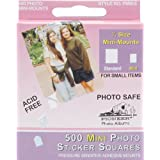 Pioneer Photo Albums 500 Count Self Adhesive Mini Photo Mounts
