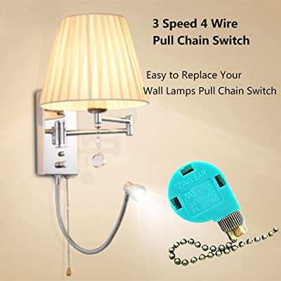Buy Zing Ear Ze 268s6 Ze 208s6 3 Speed Ceiling Fan Switch Pull Chain Cord Switch Use For Ceiling Fans Appliances Replacement Speed Control Wall Lamps Switch Cabinet Light Switch Bronze Online In Germany B07m6qpsgy