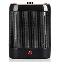 Quiet Ceramic Space Heater Office Home Bedroom Portable Small Heater (Color : A)