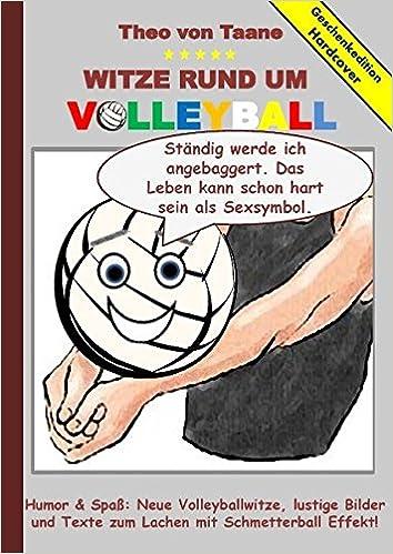 Geschenkausgabe Hardcover Humor Spaß Witze Rund Um Volleyball