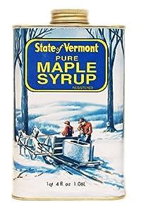 Ferguson Farms 100% Pure Vermont Maple Syrup, Grade B, Vermont Tin 1 Quart 4 fl. oz. (36oz)