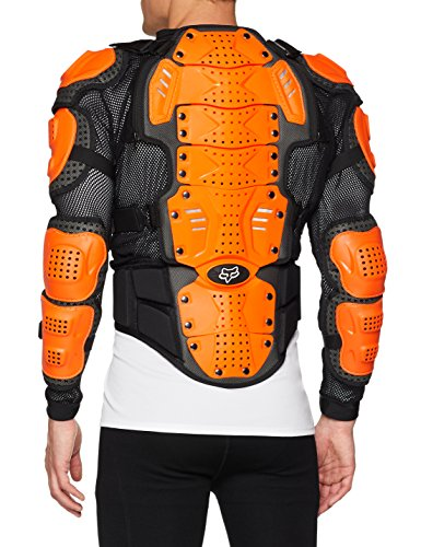 Fox Racing Titan Sport Jacket-Black/Orange-L by Fox Racing (Image #2)