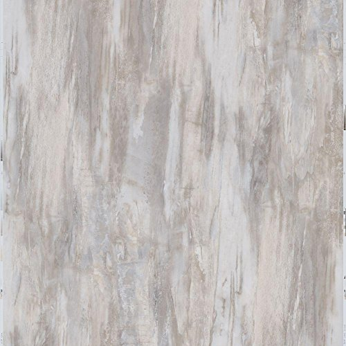 TrafficMASTER Model # SS1214 12 in x 24 in Peel and Stick White Petrified Wood Vinyl Tile 20 sq ft / case