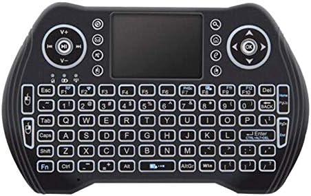 Nrpfell Retroiluminado 2.4Ghz Teclado InaláMbrico Touchpad RatóN Control Remoto de Mano 3 Colores Luz de Fondo para Android TV Box Smart TV Pc Ordenador PortáTil: Amazon.es: Electrónica