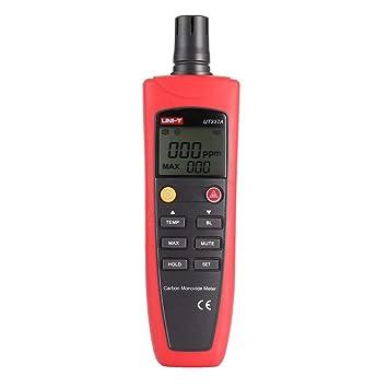 UNI-T UT337A Medidor de monóxido de carbono Detector de gas de CO Mini analizador