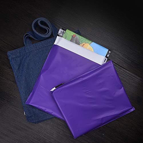 KKBESTPACK 10x13 Poly Mailers Self Sealing Shipping Envelopes CP3T2 Waterproof Postal Bags Purple 10x13 Pack of 500