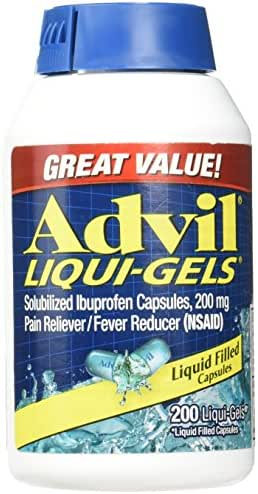 Advil Liqui-Gels (200mg) - 200 Liquid Filled Capsules