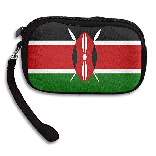 Africa Flag Of Kenya Deluxe Printing Small Purse Portable Receiving Bag by KIBGqw
