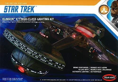 (1/350 Polar Lights Klingon K'T'inga Class Lighting Kit)