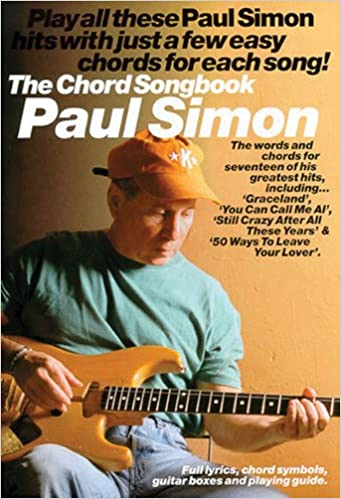 Amazon.com: PAUL SIMON CHORD SONGBOOK (Paul Simon/Simon & Garfunkel ...