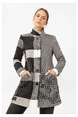 Donna Marrone Amazon Cappotto Desigual it Marrone Abbigliamento 54xptIq 9e1d6385d40