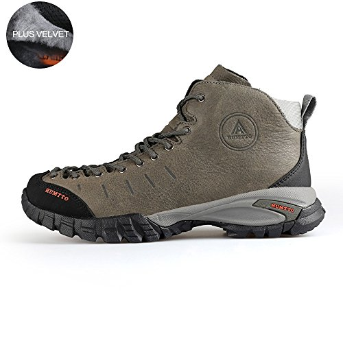 Outdoors Men Climbing 5907 and Shoes Grey Boots Women Walking Hiking HUMTTO CEZqawnXX
