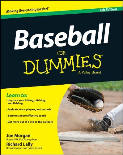 Baseball For Dummies cover