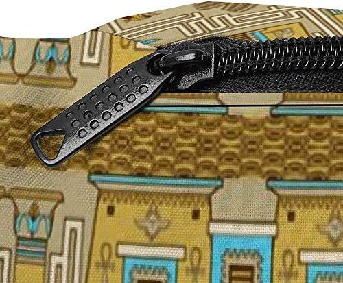 エジプトの迷路 ウエストバッグ ショルダーバッグチェストバッグ ヒップバッグ 多機能 防水 軽量 スポーツアウトドアクロスボディバッグユニセックスピクニック小旅行