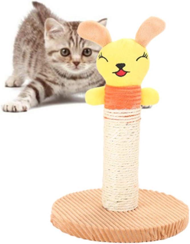 JZTRADING Juguetes para Gatos Rascador para Gatos Gato rascador ...