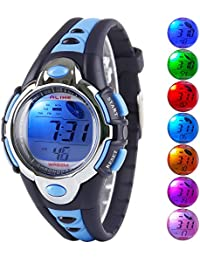 Kid Watch Multi Function Digital LED Sport 50M Waterproof...