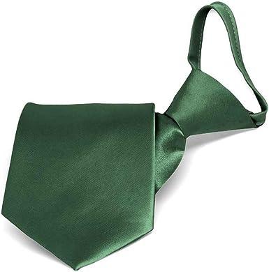 TieMart Boys Forest Green Bow Tie