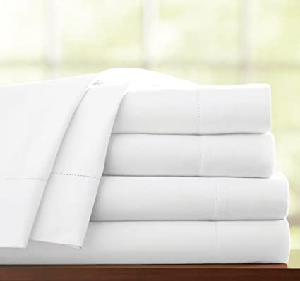 5* 400 Thread Count 100% Egyptian Cotton Fitted Sheet Flat Sheet All Uk Sizes Bright Luster Bedding